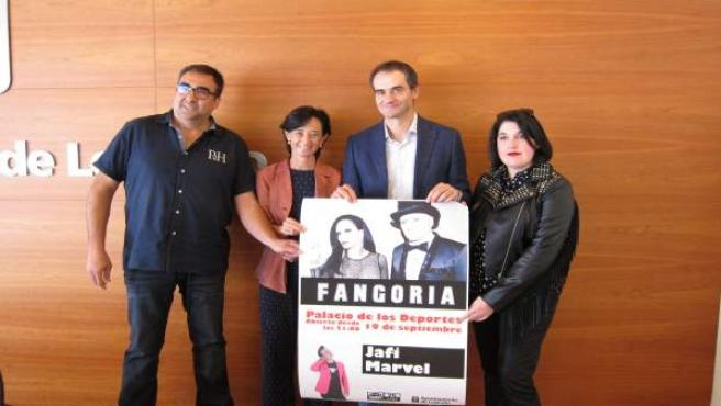 Presentación concierto de Fangoria