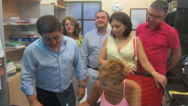 Francisco Reyes presenta su precandidatura a las primarias del PSOE de Jaén.