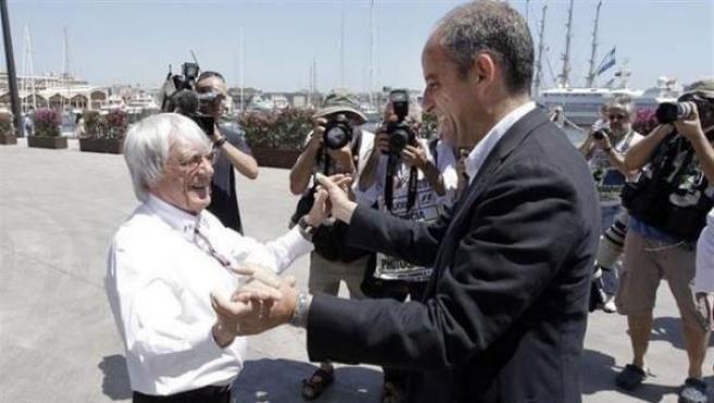 Francisco Camps i Bernie Ecclestone