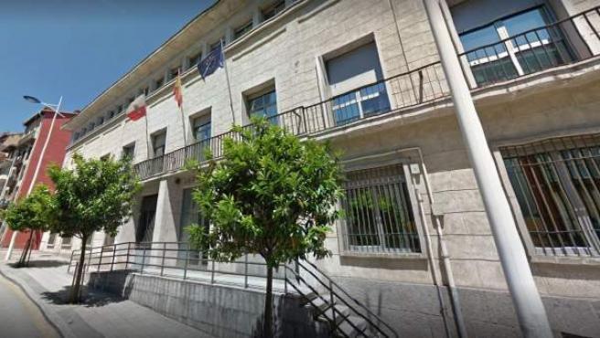 Fachada del edificio donde se ubica la Fiscalía de Menores en Santander.