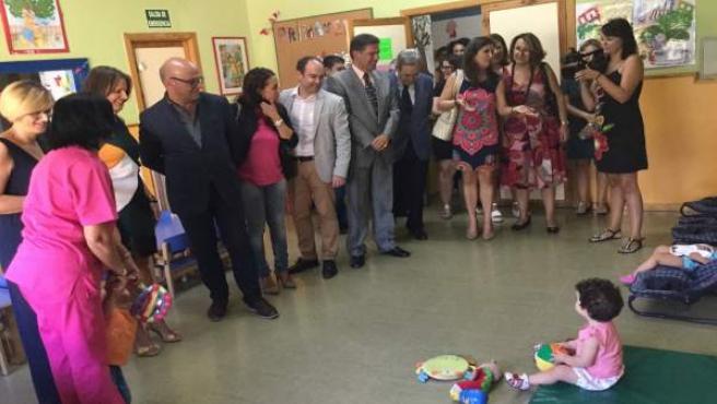 Inauguración del curso en el primer ciclo de Educación Infantil.