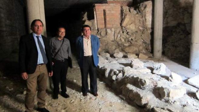 Tramo de la muralla que se rehabilitará en Salamanca