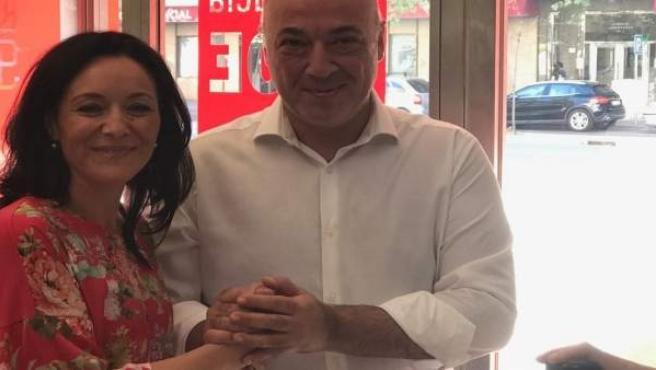 Crespín respalda a Ruiz en la presentación de su precandidatura