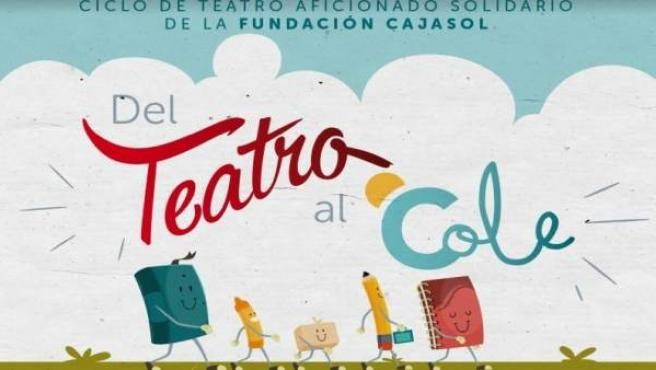 Cartel del ciclo de teatro