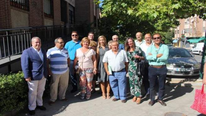 Nota Del Grupo Popular En Granada Sobre Visita A Beiro, Metro Y Ave