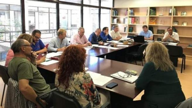 Reunión del Comité Ejecutivo Montes de Soria.