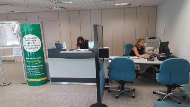 Nueva oficina de la Caja Rural del Sur en Zalamea la Real.