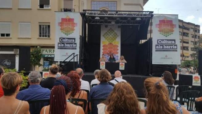 Presentación de 'Cultura als barris'