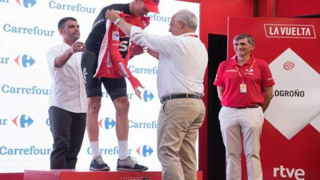 Ceniceros impone el maillot rojo a Froome
