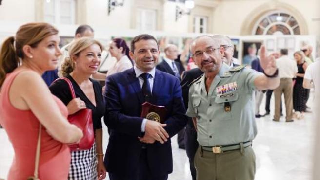 Exposición sobre la Legión en Almería