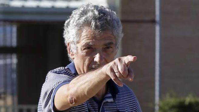 Villar, a su salida de prisión.