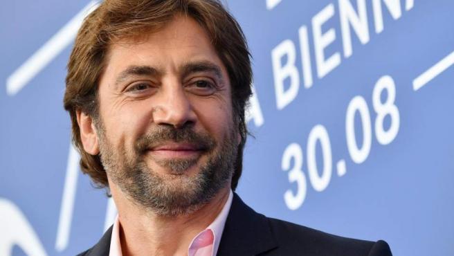 Javier Bardem durante la presentación de la película 'Loving Pablo', en la 74 edición del Festival de Cine de Venecia.