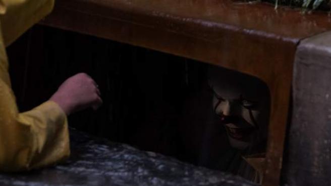 Una imagen del payaso Pennywise, la siniestra criatura de 'IT'.