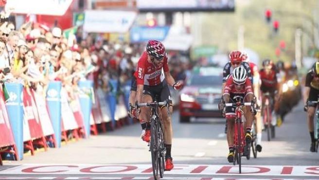 De Gent le arrebata el triunfo a García Cortina en La Vuelta