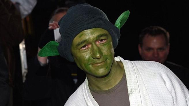 Este es el cameo alienígena de Joseph Gordon-Levitt en 'Star Wars: Los últimos Jedi'