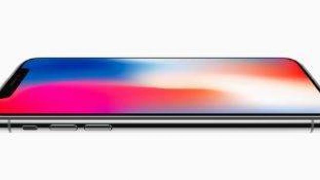 Diseño del iPhone X.