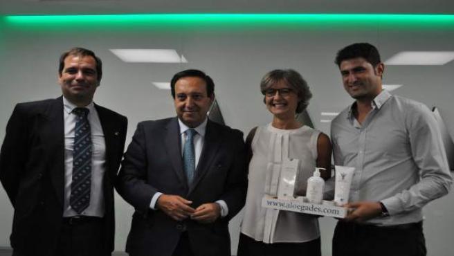 Francisco Castilla, premiado como agricultor joven de España