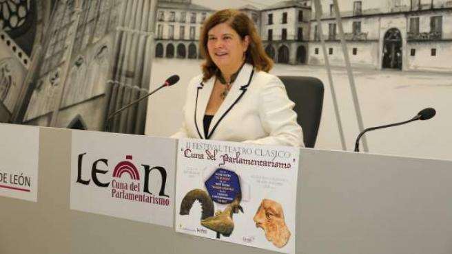 La concejal de Cultura, Patrimonio y Turismo, Margarita Torres.