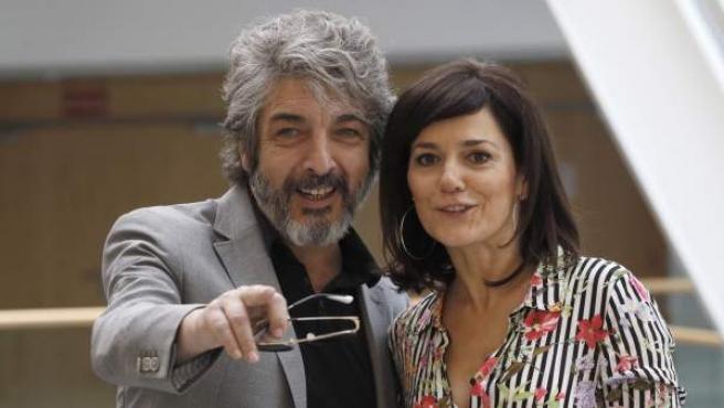 Ricardo Darín y Andrea Pietri, protagonistas de la obra de teatro 'Escenas de la vida conyugal'.