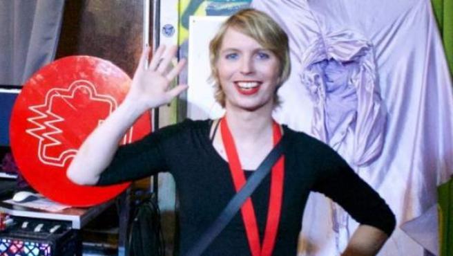 Chelsea E. Manning.