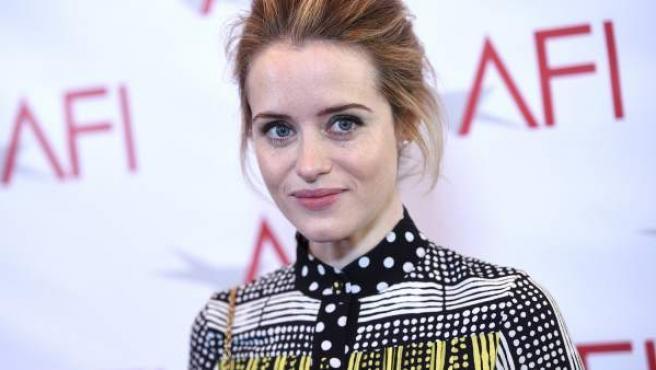Imagen de la actriz británica Claire Foy en un evento en enero.