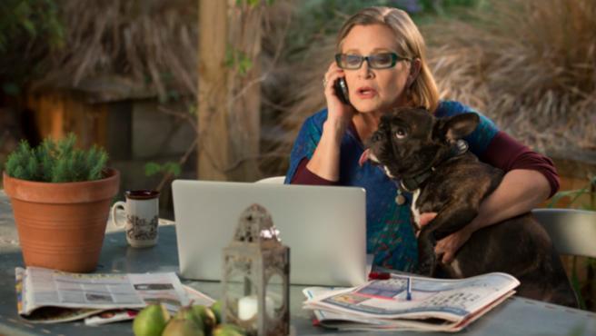 Carrie Fisher recibe una nominación póstuma a los Premios Emmy