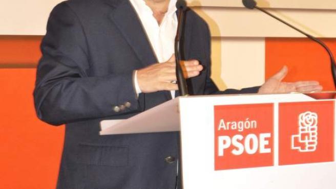 Javier Lambán.