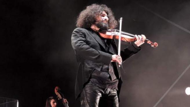 Ara Mailikian en un concierto en Zafra