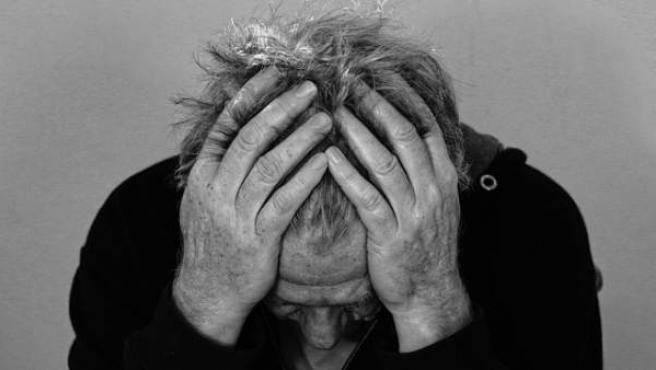 Un paciente esquizofrénico.