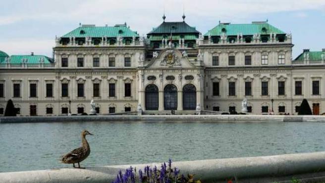 El Belvedere, que posee 22 pinturas de Klimt.