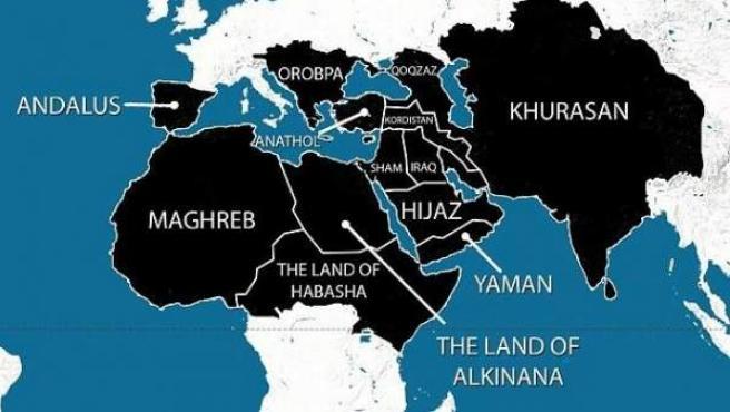 Estado Islamico Mapa Actual.Asi Es El Mundo Con El Que Suena Estado Islamico Para El Ano