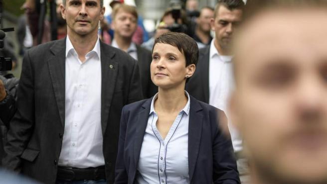 La copresidenta de Alternativa para Alemania (AfD), Frauke Petry.