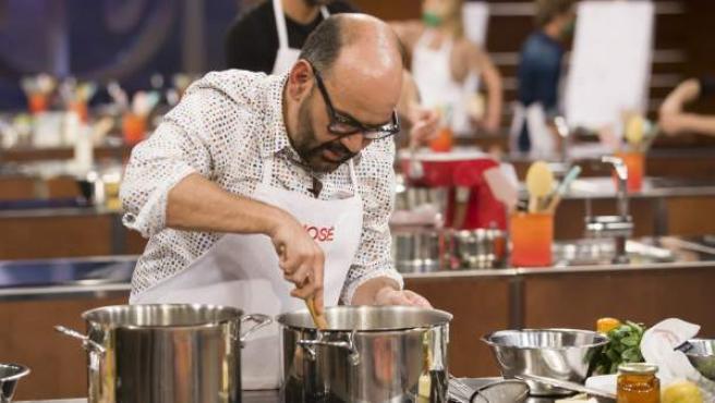 José Corbacho participa en 'MasterChef Celebrity'.