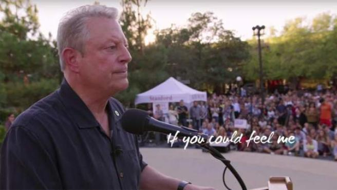 Al Gore en el documental 'Una verdad muy incómoda: Ahora o nunca'.