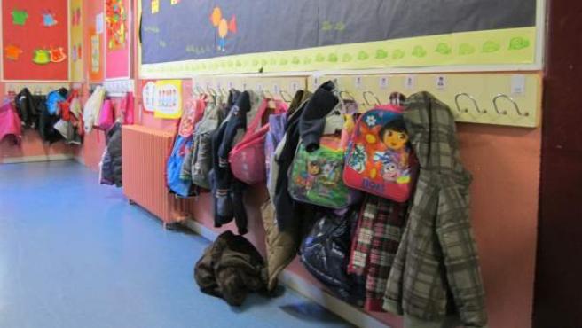 Imagen de archivo de un aula de educación infantil.