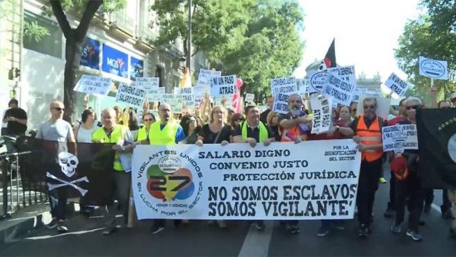 Imagen de la manifestación en Madrid