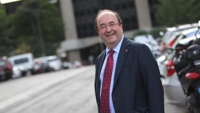 Miquel Iceta, secretario del Partido Socialista de Cataluña (PSC).