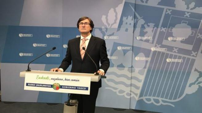 El viceconsejero de Función Pública, Andrés Zearreta