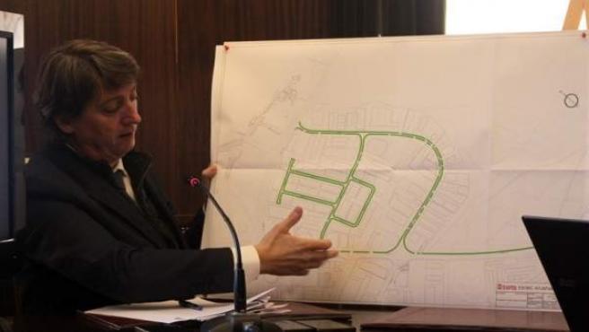 El alcalde de Soria, Carlos Martínez