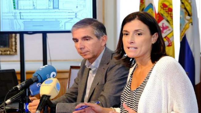 Gema Igual y César Díaz