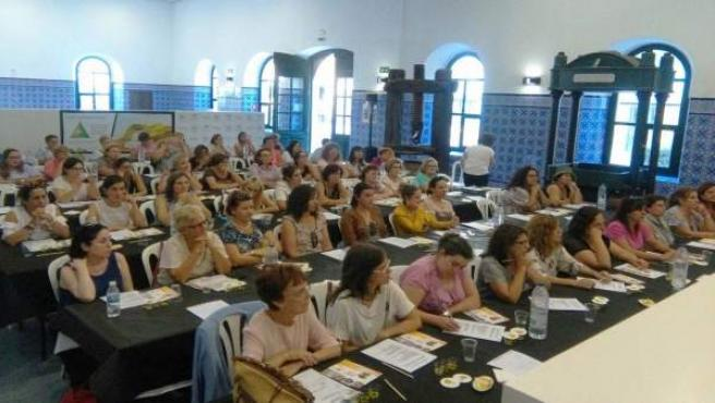 Participantes en el encuentro nacional organizado por Ceres.