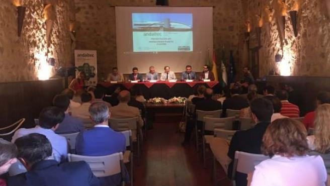 Presentación del Clúster del Plástico de Andalucía.