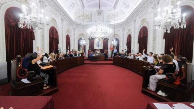 El Pleno de la ciudad de Cádiz de septiembre