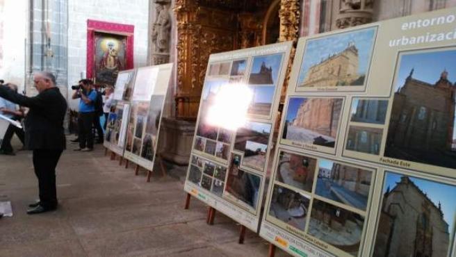 Concluyen la obra de la catedral de Coria (Cáceres)