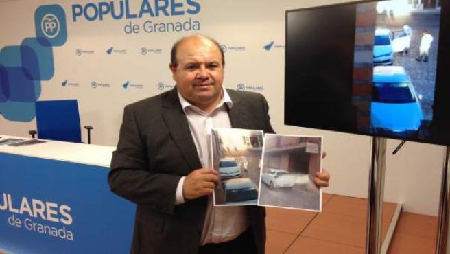 El portavoz del PP en Diputación, José Robles, sobre el uso de coches oficiales
