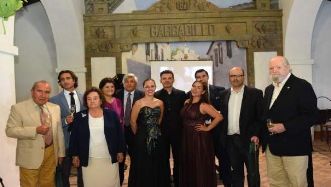 Barbadillo presenta su premio de narrativa