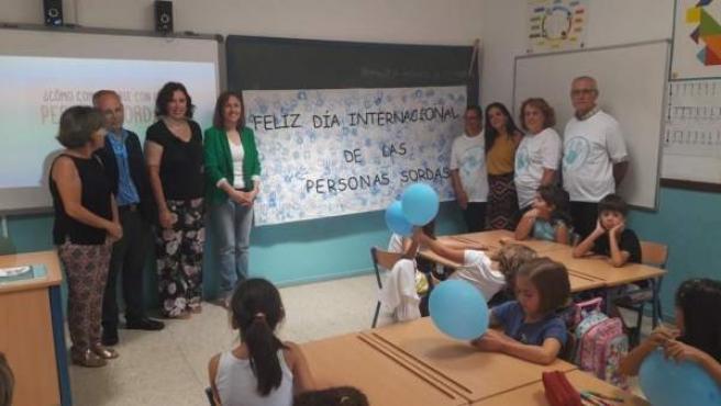 [L Comunicacion.Almeria.Dgob] Nota Y Fotos Visita Educación Centros Rosa Relaño