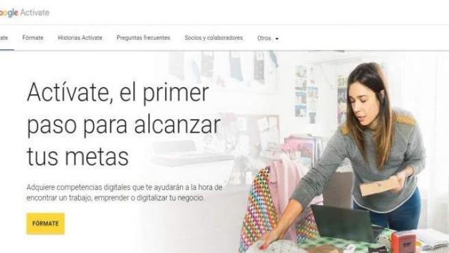 Portal de Google Actívate
