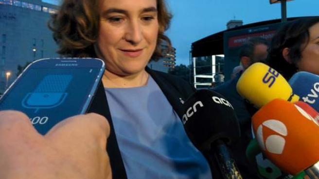 Ada Colau, la alcaldesa de Barcelona.