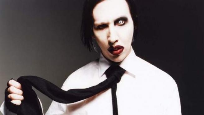 Marilyn Manson, en una foto promocional.